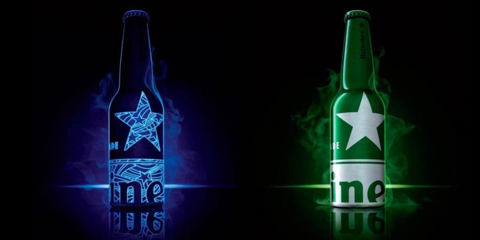 Nova embalagem Heineken